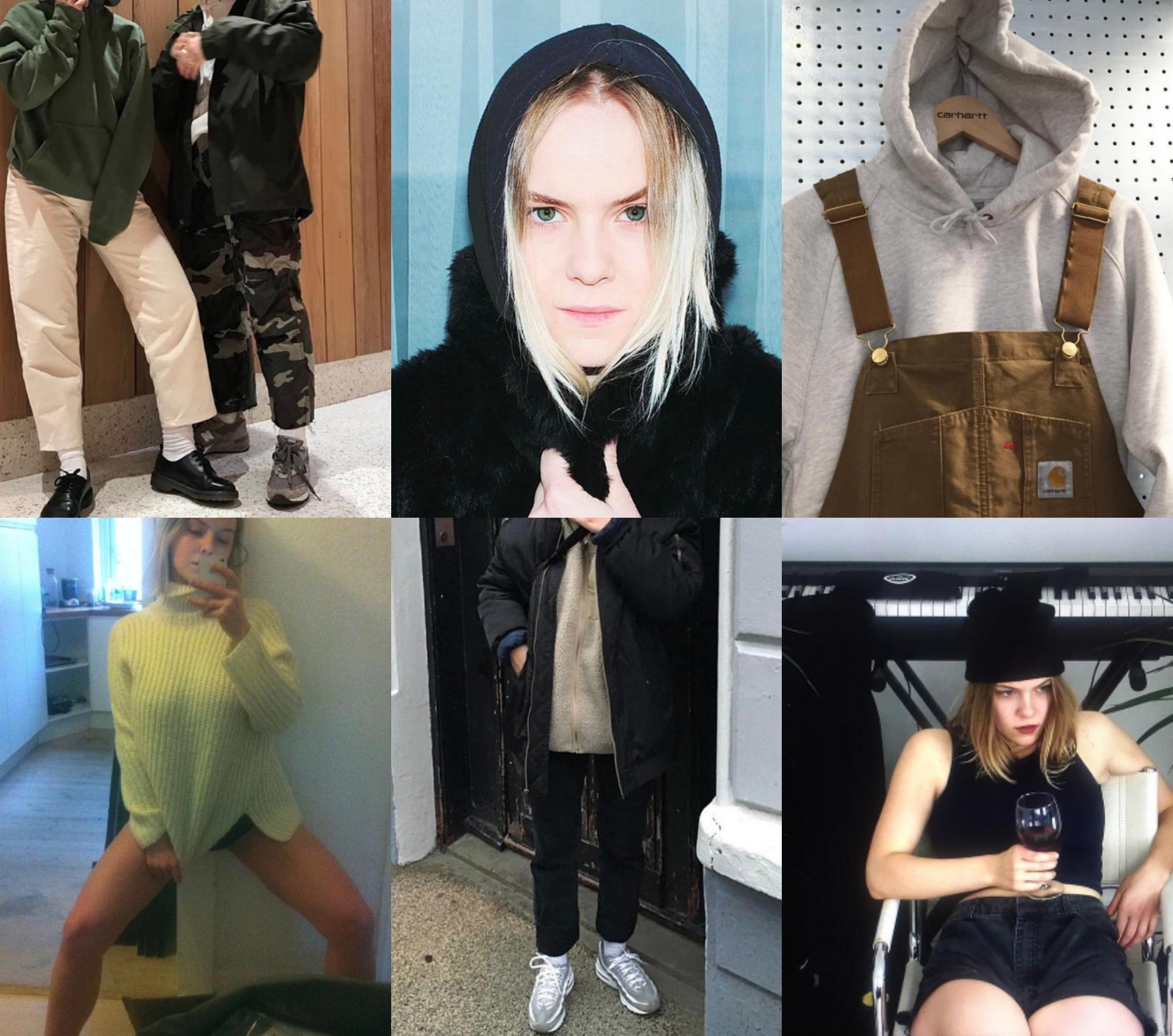Instagram piger Rebekah Christel